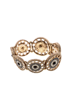 Shoptiques Product: Boho Disc Bracelet