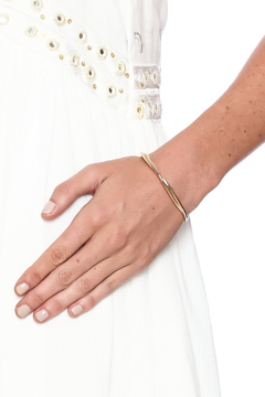 Shoptiques Product: Brass Twister Cuff