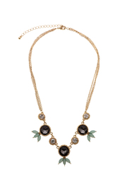Potissi Edge-Stone Statement Necklace - Product Mini Image