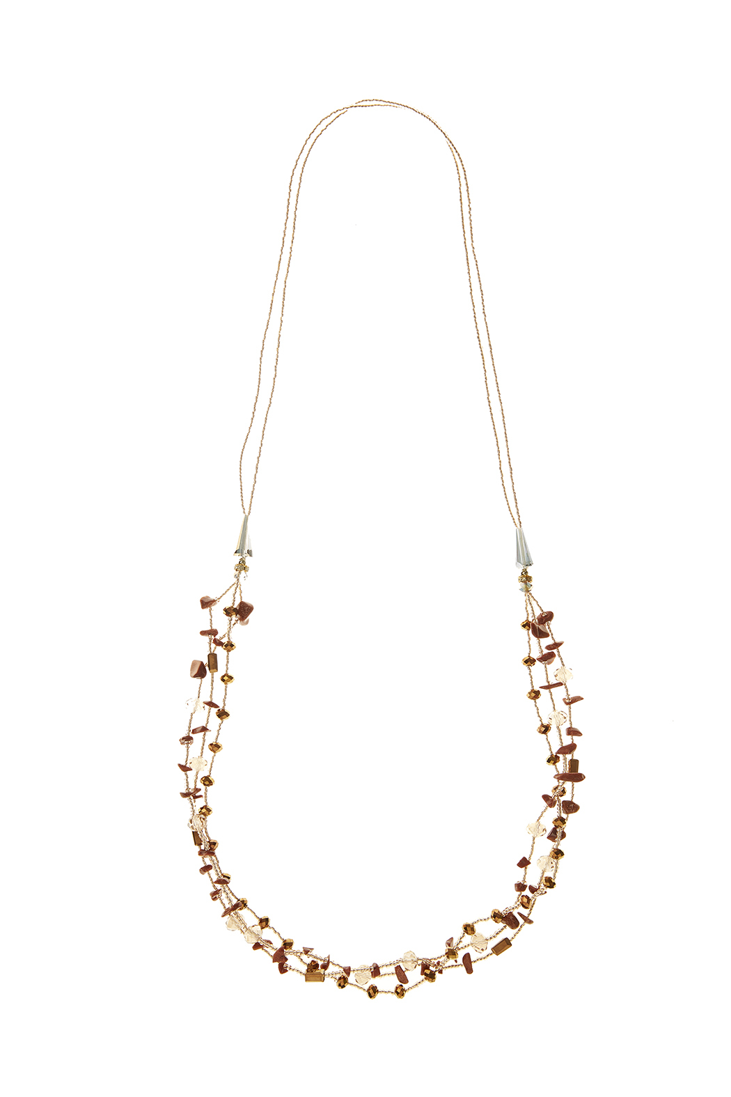 potissi multi layer necklace from new york city