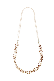 Potissi Multi-Layer Stone Necklace - Product Mini Image