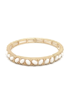 Shoptiques Product: Oval Stone Bangle