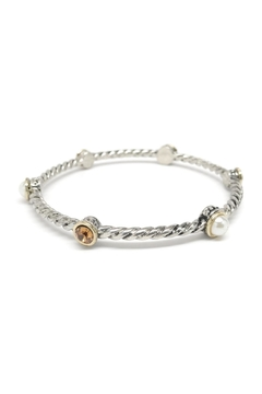 Shoptiques Product: Pearl Stone Bangle