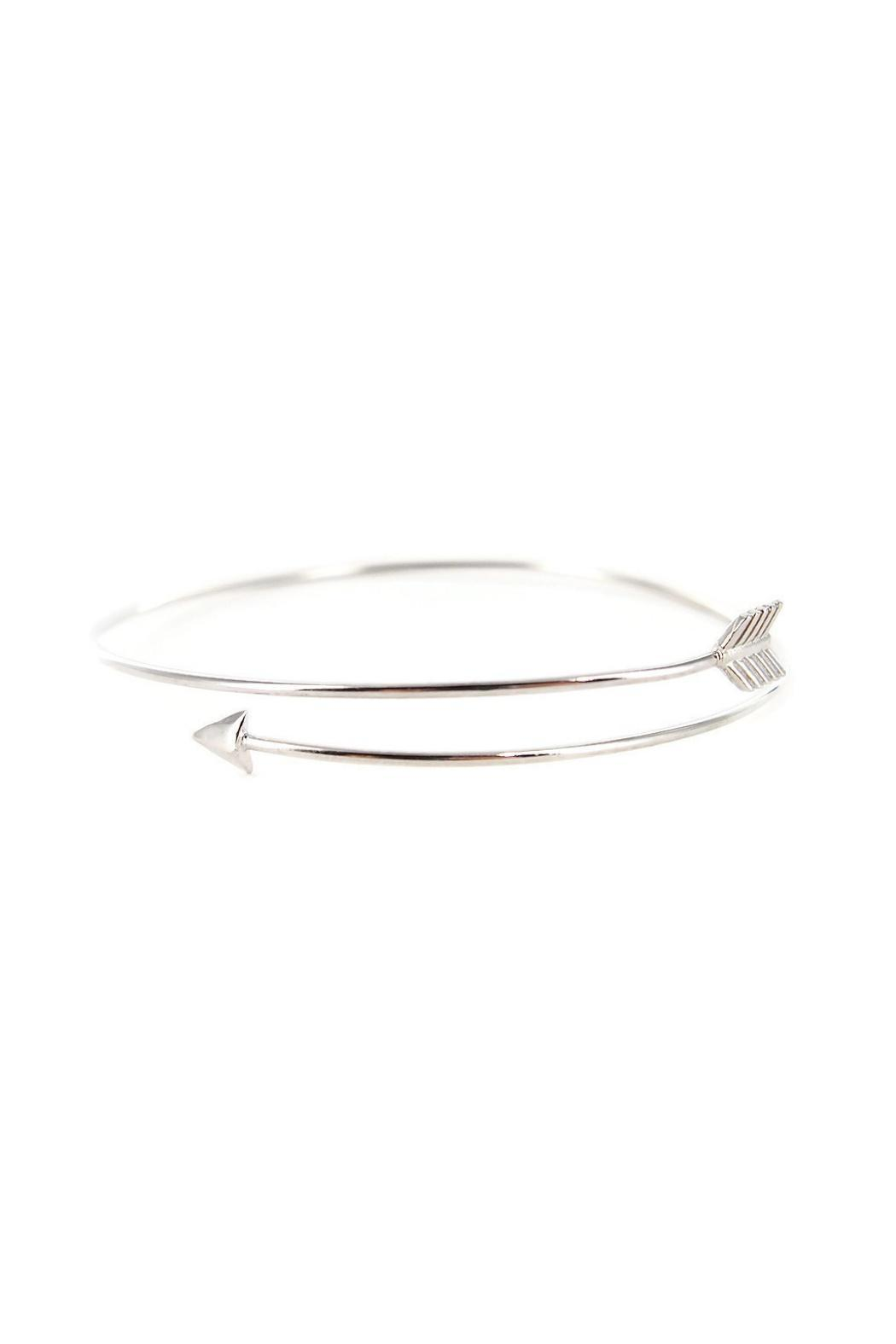 Potissi Thin Arrow Bangle - Main Image