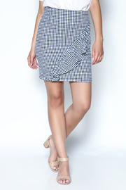 Potter's Pot Gingham Skirt - Product Mini Image