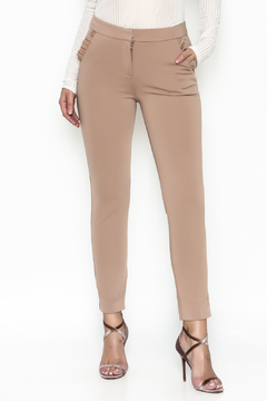 Shoptiques Product: Ruffle Pocket Trouser