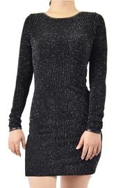 Potter's Pot Black Glitter Dress - Product Mini Image