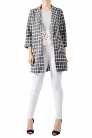Potter's Pot Boyfriend Check Blazer - Product Mini Image