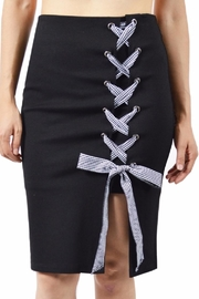 Potter's Pot Check Ribbon Skirt - Product Mini Image