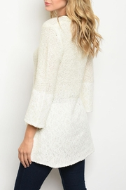Potter's Pot Ivory Tunic Top - Front full body