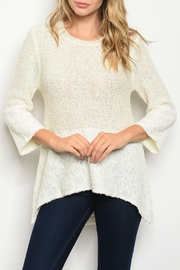 Potter's Pot Ivory Tunic Top - Front cropped