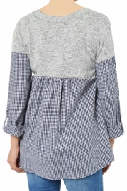 Potter's Pot Layered Check Top - Side cropped