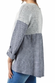 Potter's Pot Layered Check Top - Back cropped