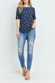 Potter's Pot Navy Polka-Dot Top - Other