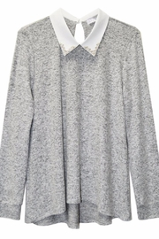 Potter's Pot Pearl Collar Blouse - Side cropped
