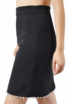 Shoptiques Product: Pearl Trim Skirt