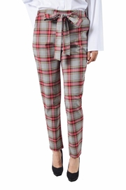 Potter's Pot Red Plaid Pants - Product Mini Image