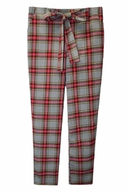 Potter's Pot Red Plaid Pants - Front full body