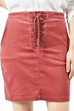Shoptiques Product: Rust Tie Up Skirt