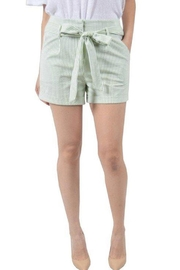 Potter's Pot Striped Shorts - Front cropped
