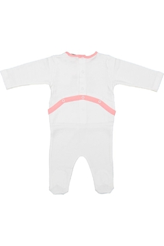 Pounds and Ounces Baby Girl Onesie - Alternate List Image