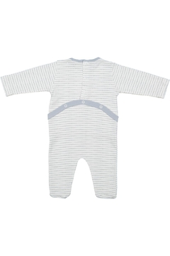Pounds and Ounces Heart Print Onesie - Alternate List Image