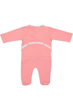 Pounds and Ounces Pink Bicycle Onesie - Alternate List Image