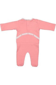 Pounds and Ounces Pink Typewriter Onesie - Alternate List Image