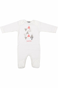 Shoptiques Product: Triangle Print Onesie