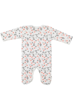 Pounds and Ounces Printed Onesie - Alternate List Image