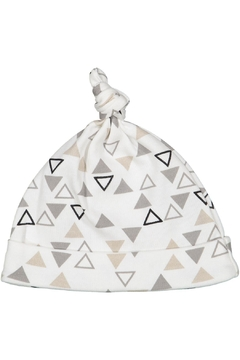 Shoptiques Product: Triangle Printed Knot Hat