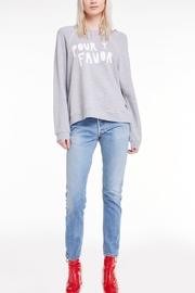 Wildfox Pour Favor Sommer Sweatshirt - Front cropped