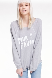 Wildfox Pour Favor Sommer Sweatshirt - Back cropped