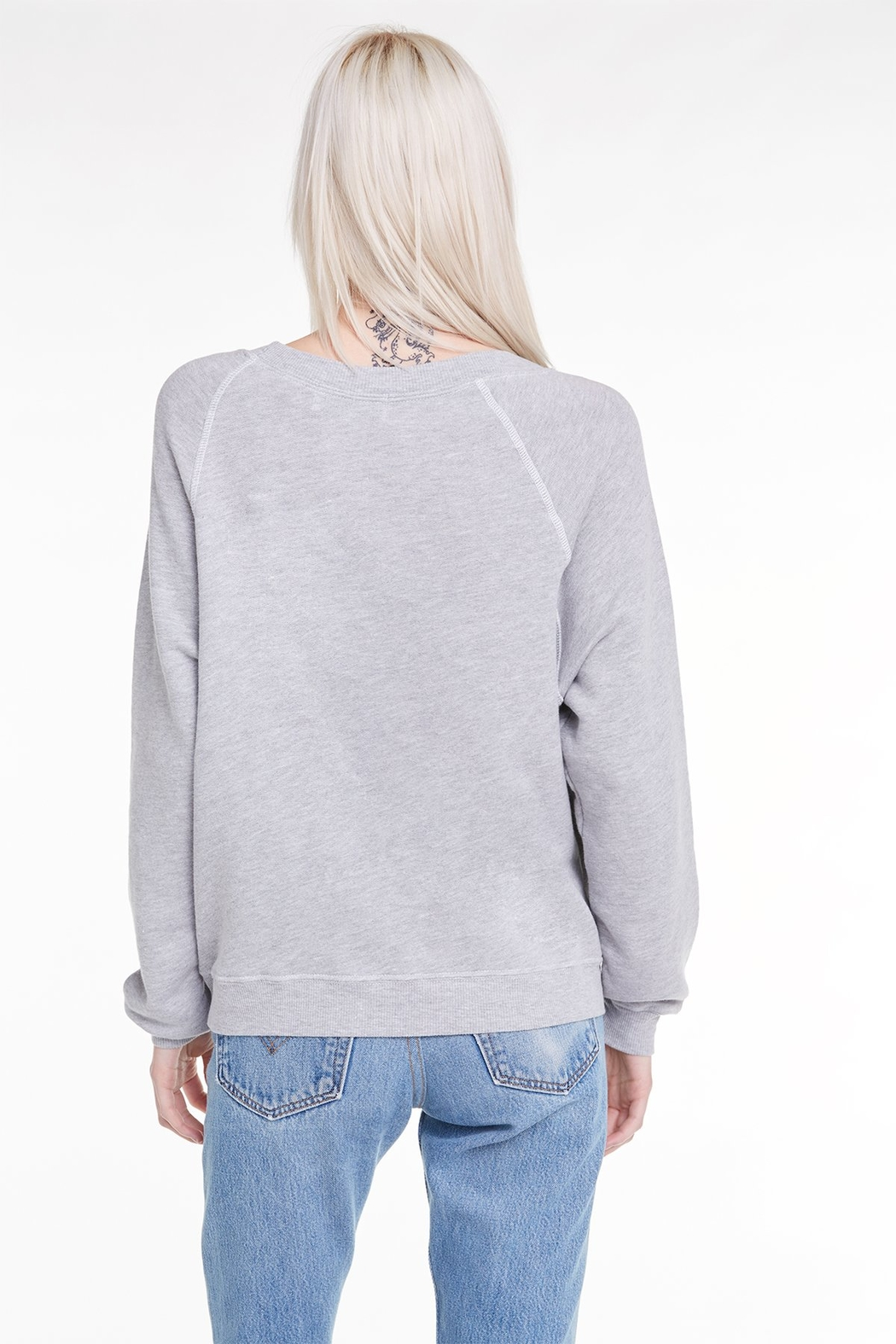 Wildfox Pour Favor Sommer Sweatshirt - Side Cropped Image