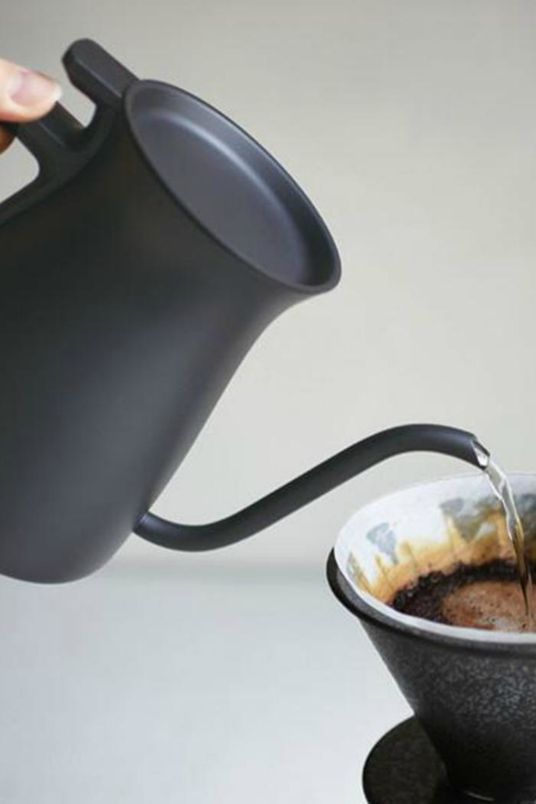 Kinto Pour Over Kettle - Side Cropped Image