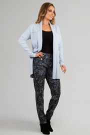 Raffinalla Powder blue straight leg pull-on pant - Product Mini Image