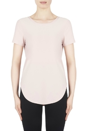 Joseph Ribkoff Powder Pink Top - Product Mini Image