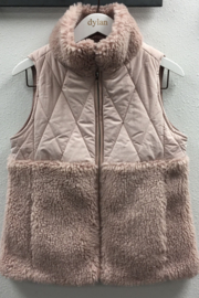Dylan by True Grit Powder Puff Vest - Product Mini Image
