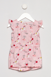 Powell Craft Pink Carousel Romper - Product Mini Image
