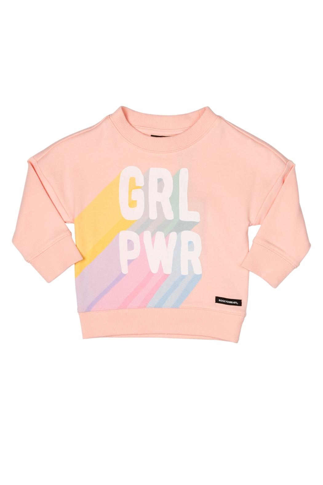 Rock Your Baby Power Baby Sweater - Main Image