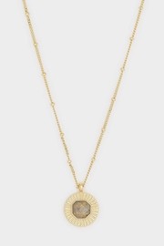 Gorjana Power Gem Coin Necklace - Product Mini Image