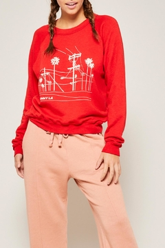 All Things Fabulous Power Lines Sweatshirt - Product List Image