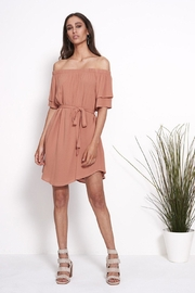 SHILLA THE LABEL Power Off Shoulder - Front cropped