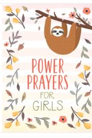 Barbour Power Prayers for Girls Book - Front cropped