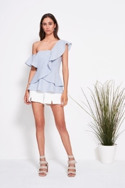 SHILLA THE LABEL Power Stripe Peplum - Product Mini Image