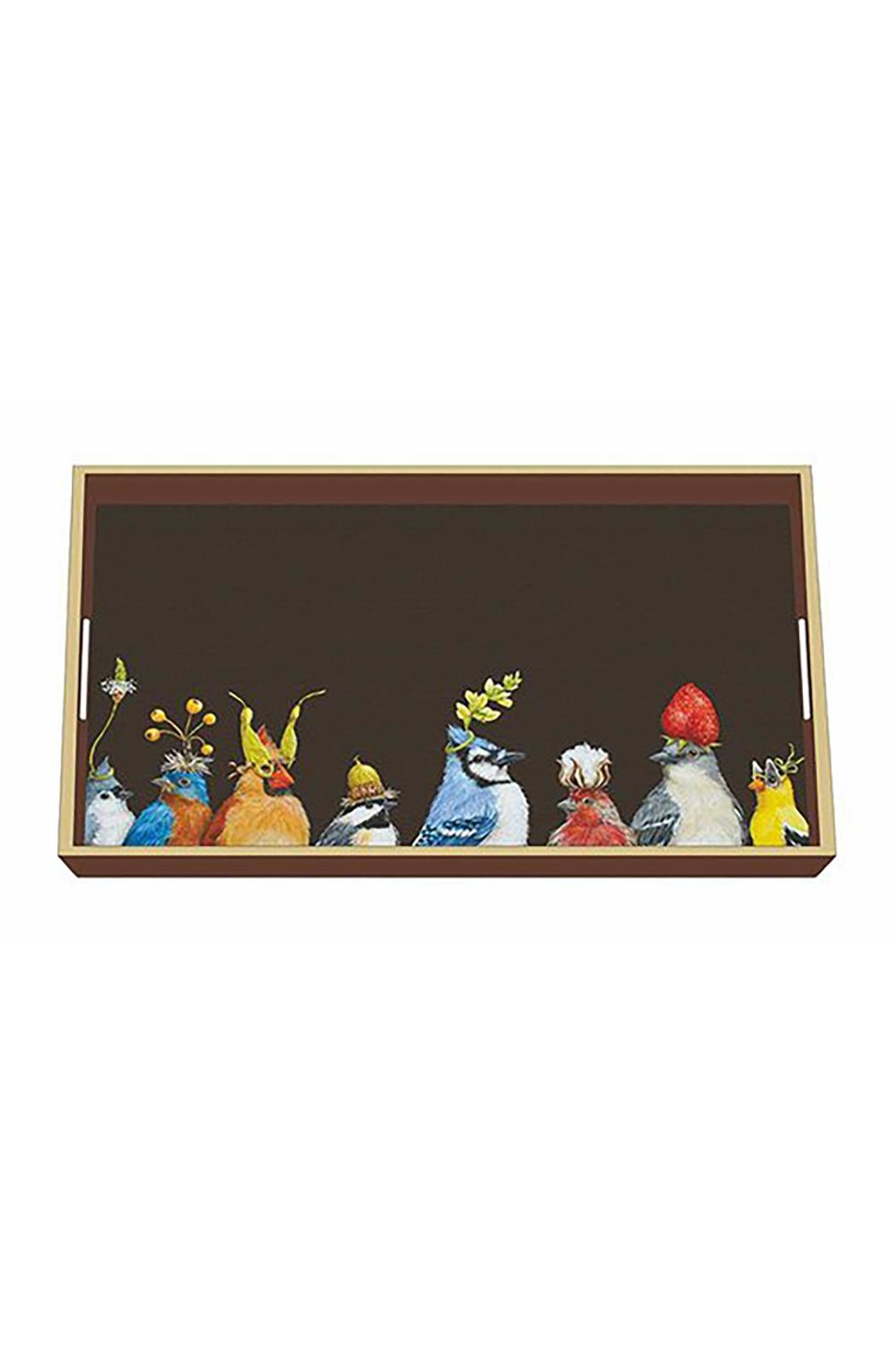 ppd Bird Lacquer Tray - Main Image