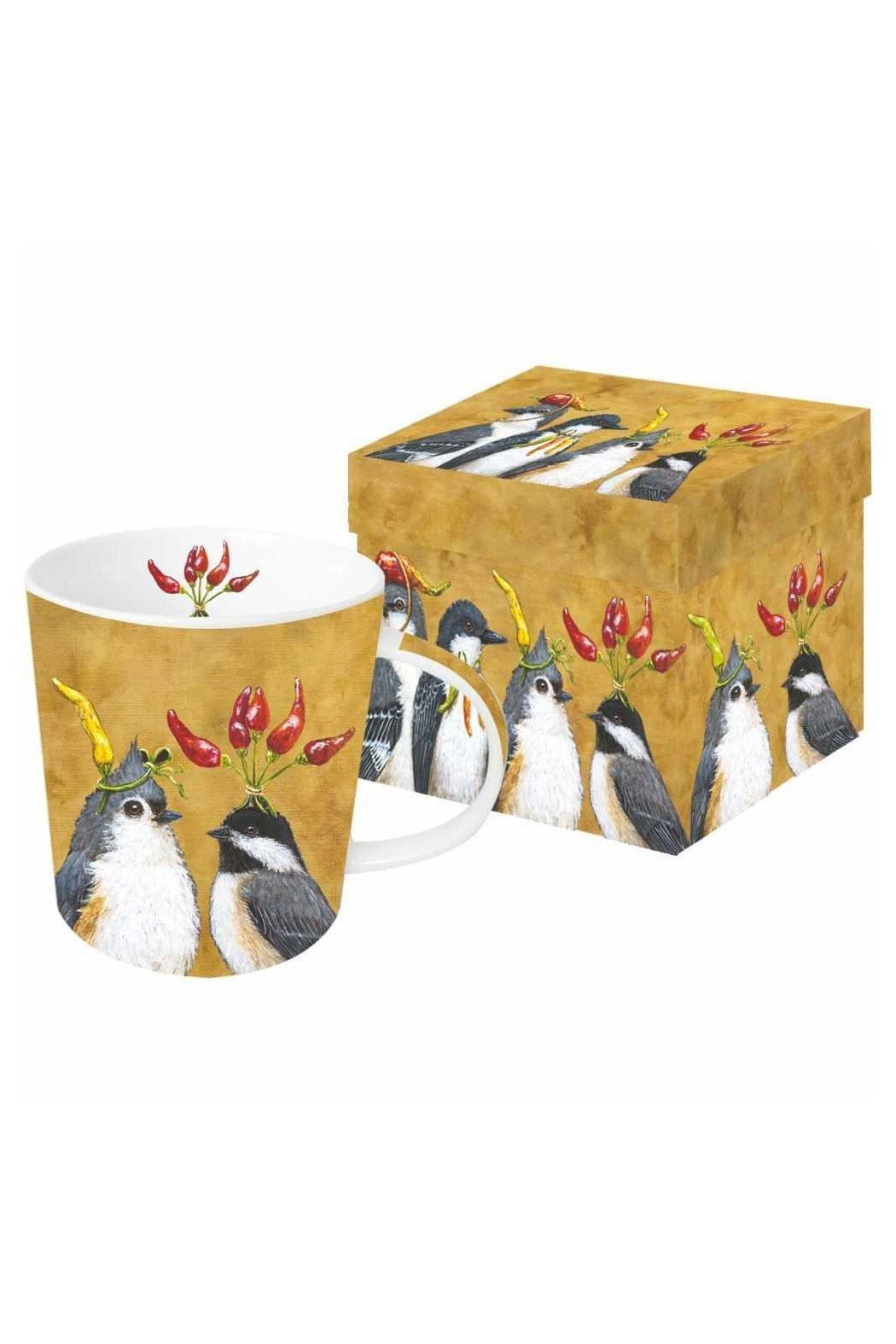 ppd Bird Mug Boxed - Front Cropped Image
