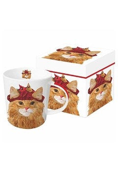 Shoptiques Product: Cat Boxed Mug