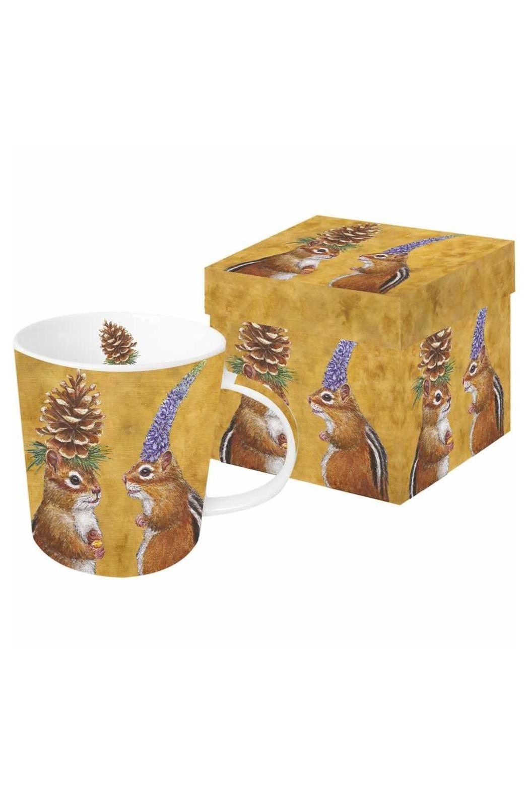 ppd Chipmunk Boxed Mug - Main Image