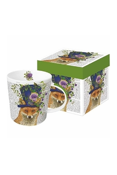 Shoptiques Product: Fox Boxed Mug